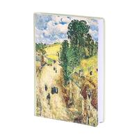 Ежедневник датированный 2021 год InFolio Impressionists искусственная кожа A5 176 листов зеленый (140x200 мм)
