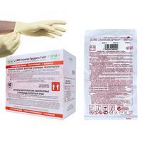Перчатки медицинские хирургические латексные SFM 7 стерильные неопудренные размер M (100 штук в упаковке)
