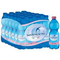 Вода минеральная San Benedetto негазированная 0.5 л (24 штуки в упаковке)