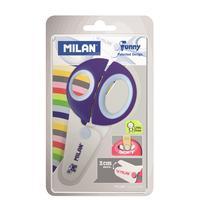Ножницы детские Milan Funny (122 мм, с эргономичными ручками)