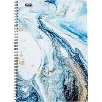 Бизнес-тетрадь Attache Selection Fluid A4 96 листов серая/голубая в клетку на спирали (203х290 мм)