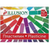 Пластилин Гамма Illusion 12 цветов 168 г