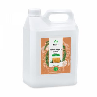 Мыло жидкое Grass Milana Хозяйственное с маслом кедра 5 л