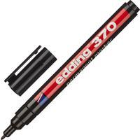 Маркер перманентный Edding E-370/1 черный (толщина линии 1 мм) круглый наконечник