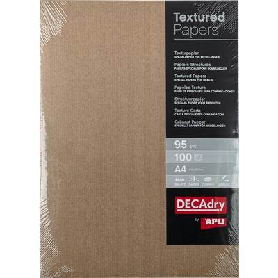 Дизайн-бумага Decadry Пергамент (A4, 95 г/кв.м, 100 листов в упаковке)