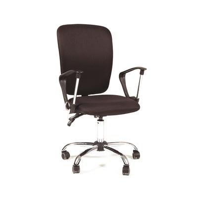 Кресло офисное Chairman 9801 черное (ткань, металл)