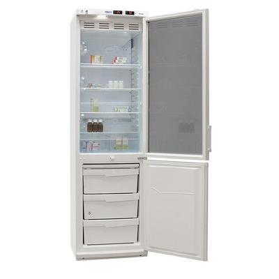 Холодильник лабораторный Pozis ХЛ-340 270/130 л  (стеклянная/металлическая дверь)