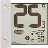 Цифровой термометр оконный на солнечной батарее и липучке RST 01391