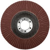 Круг шлифовальный лепестковый торцевой (115 мм, Р 100) FIT (39545)