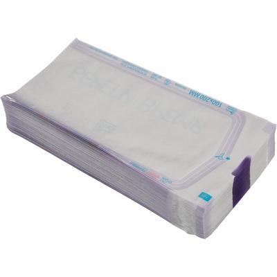 Пакет для стерилизации iPack для паровой и газовой стерилизации 100х200 мм (200 штук в упаковке)