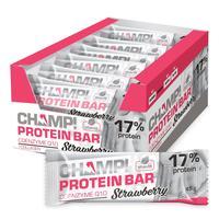 Батончик Champ! клубничный протеиновый (18 штук в упаковке)