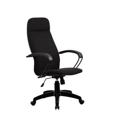 Кресло для оператора Метта  BP-1 PL черное (ткань/пластик)