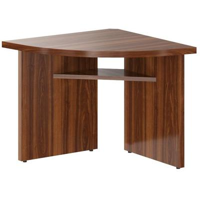 Стол для переговоров Born угловой элемент левый (орех даллас, 840x840x750 мм)