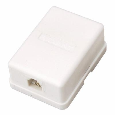 Телефонная розетка PROconnect внешняя 1 разъем RJ-11 50 штук в упаковке (03-0001-4)
