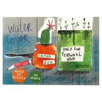 Альбом для акварели Kroyter Flower А5 30 листов
