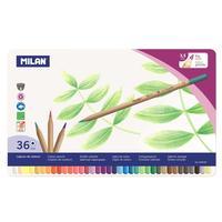 Карандаши цветные Milan 36 цветов