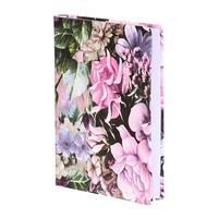 Ежедневник датированный 2021 год InFolio Gobelen искусственная кожа A5 176 листов фиолетовый (140x200 мм)