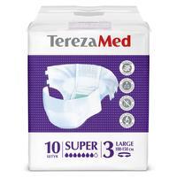 Подгузники Tereza Med super large №3 (10 штук в упаковке)