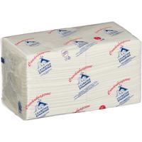 Салфетки бумажные Profi Pack 24x24 см белые 2-слойные 250 штук в   упаковке