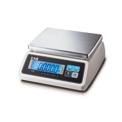 Весы торговые настольные влагостойкие Cas SWN-6CW