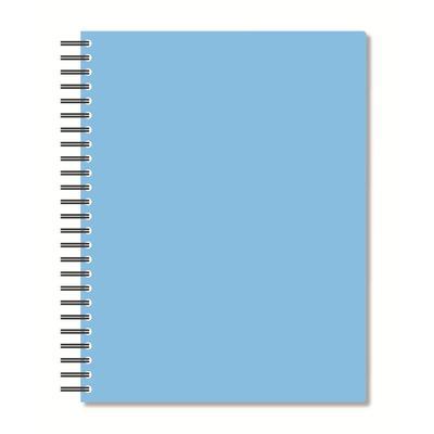 Бизнес-тетрадь Attache Bright colours A5 96 листов голубая в клетку на спирали (160x207 мм)