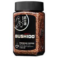 Кофе растворимый Bushido Black Katana 50 г (стекло)