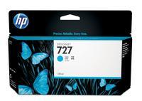 Картридж струйный HP 727 B3P19A голубой оригинальный