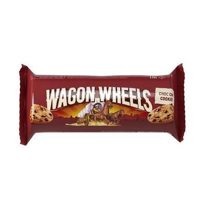 Печенье сдобное Wagon Wheels с кусочками шоколада 136 г