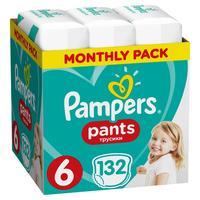 Подгузники-трусики Pampers Pants Extra Large 15+ кг (132 штуки в упаковке)