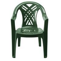 Кресло пластиковое Престиж-2 №6 темно-зеленое