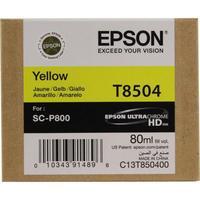 Картридж струйный Epson T8504 C13T850400 желтый оригинальный