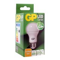 Лампа светодиодная GP 7 Вт Е27 грушевидная 2700К теплый белый свет