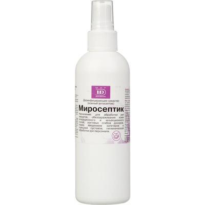 Средство дезинфицирующее Миросептик спрей 200 мл