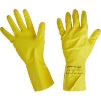 Перчатки КЩС Ansell AlphaTec Эконохэндс 87-190 латекс желтые (размер 8, M)