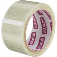 Клейкая лента упаковочная Attache прозрачная 48 мм x 60 м толщина 40 мкм