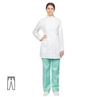 Брюки медицинские женские м14-БР мятные (размер 60-62, рост 158-164)