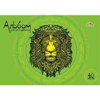 Альбом для рисования Апплика Лев А4 40 листов
