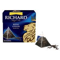 Чай Richard Royal Ceylon Королевский Цейлон черный 20 пакетиков