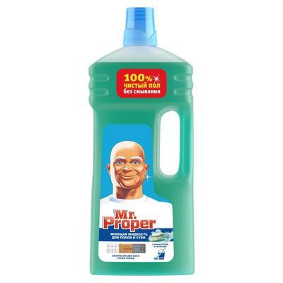 Средство для мытья пола Mr.Proper Горный ручей и прохлада 1,5 л