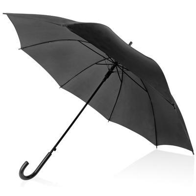 Зонт полуавтомат черный (907007)