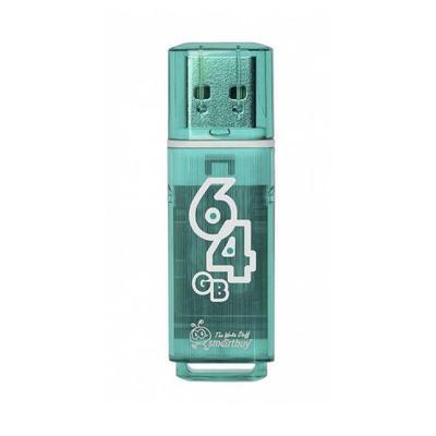 Флеш-память USB 2.0 64 Гб SmartBuy Glossy (SB64GBGS-G)