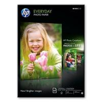 Фотобумага для цветной струйной печати HP Everyday Photo Q2510A односторонняя (глянцевая, A4, 200 г/кв.м, 100 листов)
