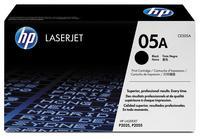 Картридж лазерный HP 05A CE505A черный оригинальный