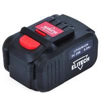 Аккумулятор Elitech 1820.067700 18 В 4.0 Ач Li-ion 18СЛК слайдер