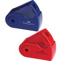 Точилка Faber-Castell Sleeve Mini с контейнером в ассортименте