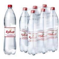 Вода питьевая Кубай газированная 1.5 л (6 штук в упаковке)