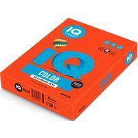 Бумага цветная для печати IQ Color красная интенсив ZR09 (А4, 80 г/кв.м, 500 листов)
