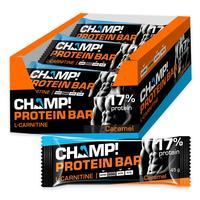 Батончик Champ! карамельный протеиновый (18 штук в упаковке)