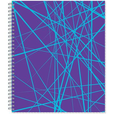 Тетрадь общая Attache Lines Inverse А5 96 листов в клетку на спирали