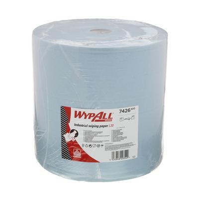 Протирочный материал Kimberly Clark Wypall L30 7426 голубой (670 листов в упаковке)